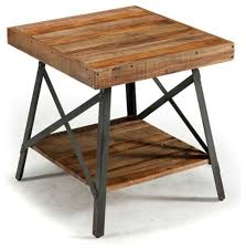 Chandler End Table Industrial Side Tables And End Tables