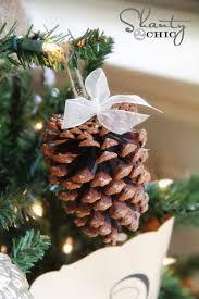 Pinecone OrnamentPine Cone Christmas Tree Craft Project