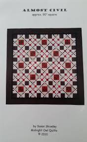 164 best Chester County Quilting - Quilts, Crafts & More images on ... & Almost Civil Quilt Pattern by ChesterCountyQuiltng on Etsy Adamdwight.com