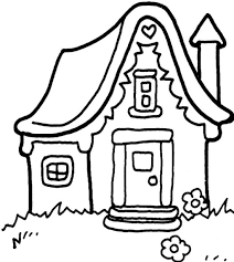 Christmas coloring pages for kids & adults to color in and celebrate all things christmas, from santa to snowmen to festive holiday scenes! Free Printable Gingerbread House Coloring Pages For Kids