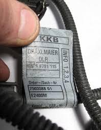 bmw e39 5 series 2001 525i 530i engine wiring harness complete m54 bmw e39 5 series 2001 525i 530i engine wiring harness complete m54 used oem