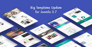 large templates big templates update for joomla 3 7