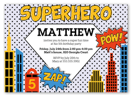 superheroes birthday party invitations superhero birthday invitations shutterfly