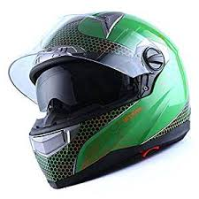 Buy 1storm Motorcycle Street Bike Dual Visor Full Face
