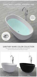 kkr solid surface bathtub features it is easy to clean and maintenance it is highly resistant to scratch non porous anti bacteria