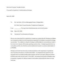 40 Business Proposal Templates Proposal Letter Samples Cool Business Proposal Sample Format