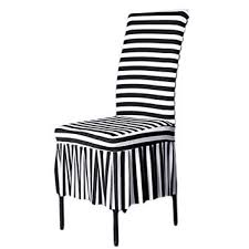 image unavailable image not available for color shzons trade clic chair slipcovers stretch ruffled dining