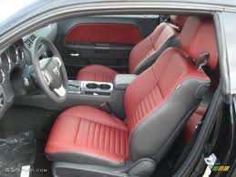 Radar Red/Dark Slate Gray Interior 2013 Dodge Challenger SXT Plus ...