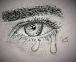 eyes drawings sad eyes drawing pencil sketch colorful realistic art images