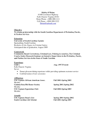 Criminal Justice Resume Simple Criminal Justice Resume 44 Ifest