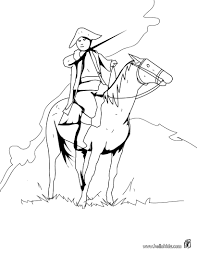 Us Soldier And Horse Coloring Pages Hellokids Com