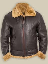 Raf Jacket Size Chart Men B3 Bomber Raf Shearling Jacket