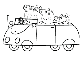 Peppa Pig Color Pages Pig Printable Coloring Pages Pig Printable