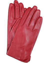 las classic leather gloves with fine fleece lining 77 0003 image 1
