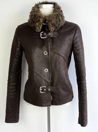 armani jeans jacket fake fur