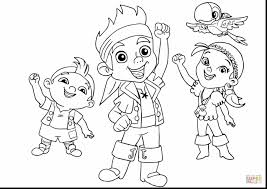 jake neverland pirates coloring pages. Exellent Pirates Jake And The Neverland Pirates Coloring Pages Inside A