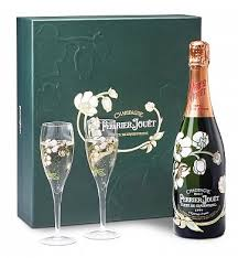 perrier jouet chagne gift set personalized wine gifts the world s most romantic chagne