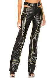 i am gia nora faux leather pant
