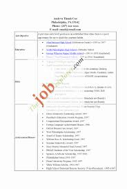 Sample High School Resume Best Of Activities Resume For College