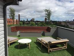 rooftop deck furniture. Interesting Deck Rooftop Deck With Green Space U0026 Built In Seating On Furniture E