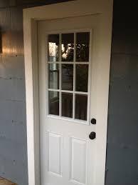 White Door Black Trim Exterior Design Decorative Azek Trim For Home Exterior Design