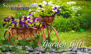 secret garden has the best garden gifts