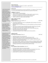 Buyers Resumes Gary Armstrong Procurement Buyer 1 Word Doc