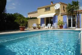 3 Bedroom Holiday Rental Villa With Pool In Marseillan
