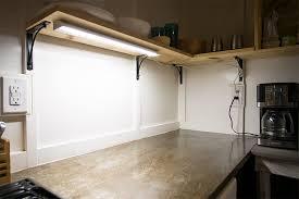 LED Kitchen Cabinet Lighting Installation Pertaining To Led Ideas 3