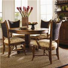 Tommy Bahama Home Island Estate 5 Piece Cayman Kitchen Table Dining Set Tommy Bahama Furniture Collection A8