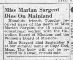 Marian Sargent obit - Newspapers.com