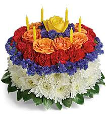 Your Wish Is Granted Birthday Cake Bouquet Flower Shop In Salem Oregon