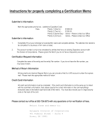 Free Certification Memo Templates At Allbusinesstemplates Com