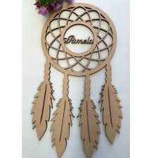 Dream Catcher With Names Awesome Personalised Dream Catcher With Name In Circle Style 32 Custom