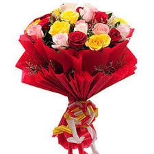 distinctive power of rose bouquet