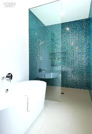 showers glass tile shower ideas modern blue best on for 8 bathroom tiles com within