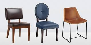 diningoom best leather chairs in side arm alluring canada white dining room with post winning