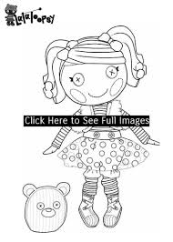 Lalaloopsy Coloring Pages Coloring Pages For Girls Online In