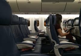 delta air lines boeing 767 300er main cabin economy cl seats rows interior photos