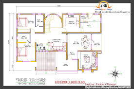 beautiful 2853 sq ft 4 bedroom villa elevation and plan for kerala style 3 bedroom house