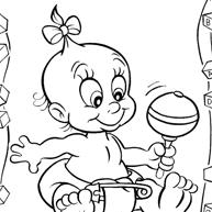 Baby Kleurplaten Kleur Nu De Verschillende Babys In