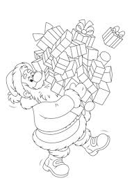 Kleurplaat Kerstboompje Kerstman Trekpop Knutselpagina Nl Knutselen