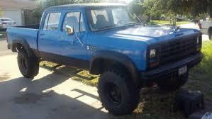 1985 dodge w350 crew cab pickup 4 door 5 9l 4x4