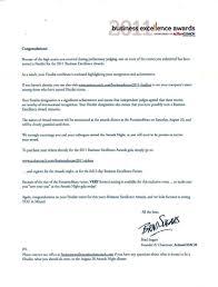 e ndeavor program management and cross cultural marketing blog finalist announcement letter