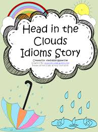 Head In The Clouds Idioms Activity & FREEBIES - thedabblingspeechie
