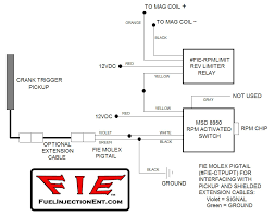 fie magnetos mechanical fuel injection efi fuel injection click here for rev limiter schematic