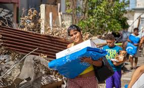 samaritan s purse distributes international emergency relief kits to families displaced by disasters