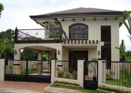 two story house with balcony black iron railing combine crea outdoor balcony design