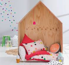 wooden house furniture. Little Wooden House As Reading Nook For Kids Furniture N