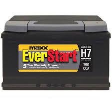 Everstart Maxx Lead Acid Automotive Battery Group Size H7